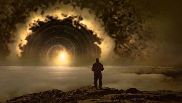 Fantasy. Man. Portal.