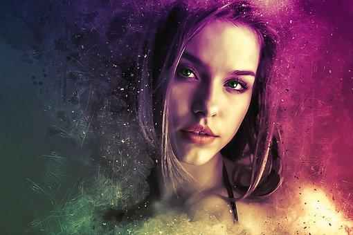 woman, fantasy