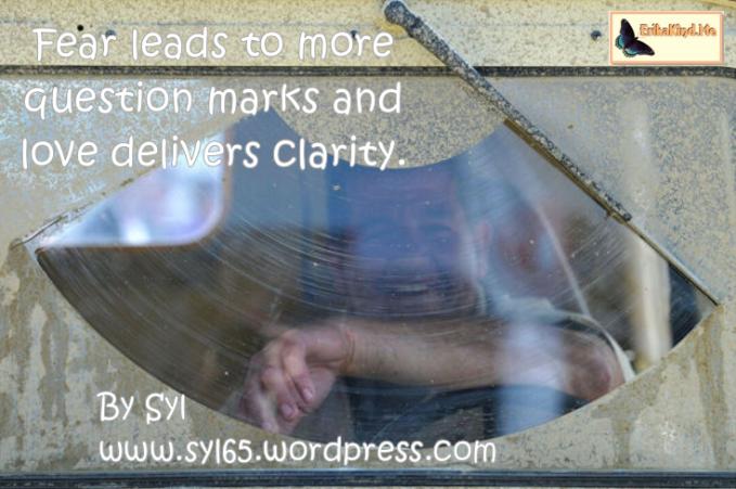 love creates clarity